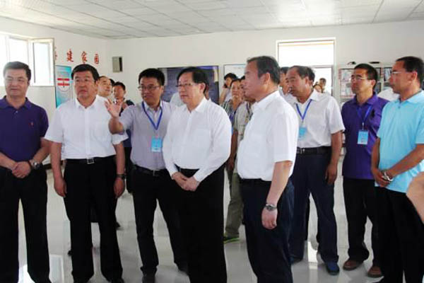 Vice Chairman of CPPCC, Science Technology Minister WAN Gang Inspect Beidou Digital Ranch Project Base